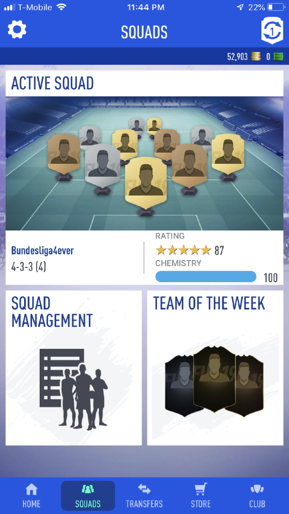 UX Fail Part 2- Fifa 19 Companion App – User Experience Design
