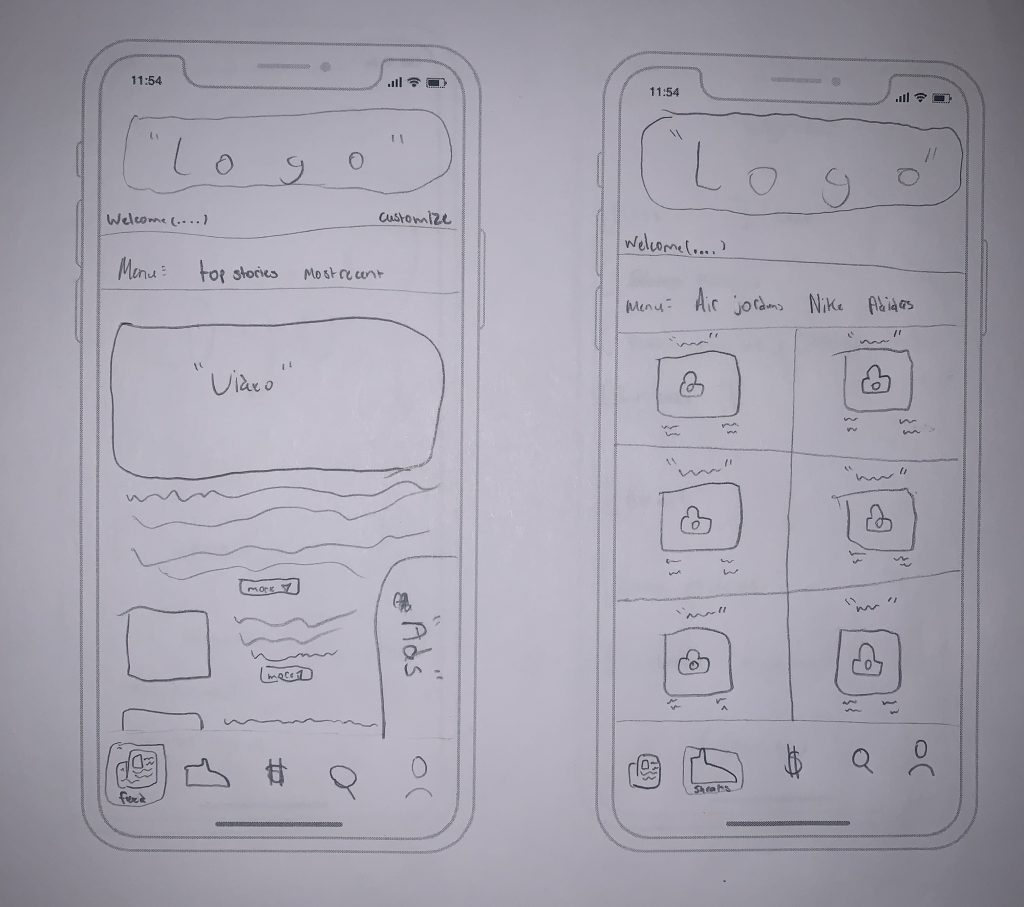 Paper Prototype – User Experience Design